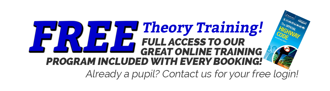 Free Theory Training when you take Driving Lessons in Bristol with Relax Driving School