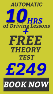 automatic driving lessons prices